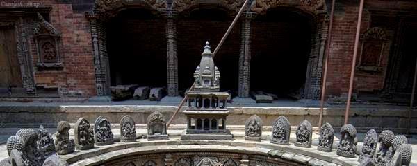 Patan Durbar under renovations