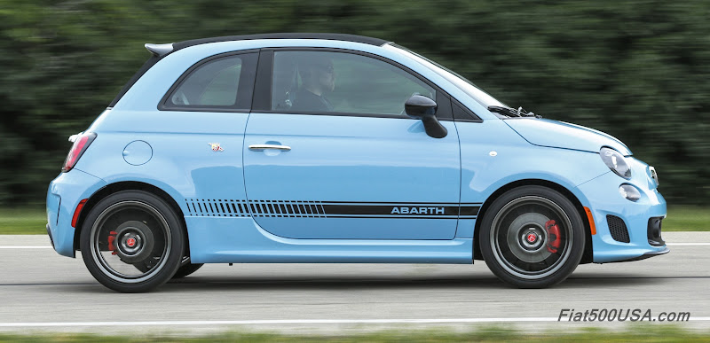 light blue abarth anyone else excited about this. Black Bedroom Furniture Sets. Home Design Ideas