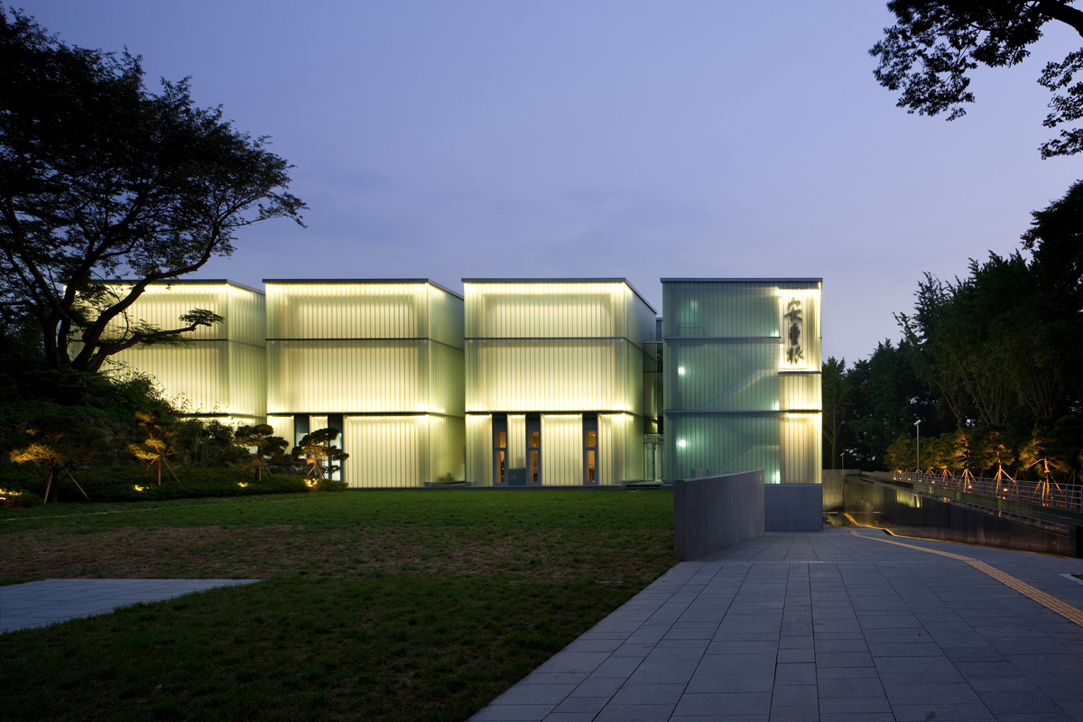 Ahn Jung-geun Memorial Hall  design by D·Lim Architects