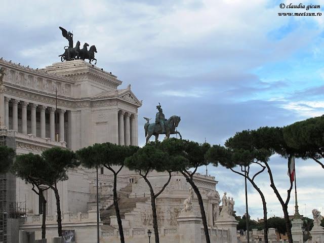 Roma. Palatul şi Monumentul Emanuelle II