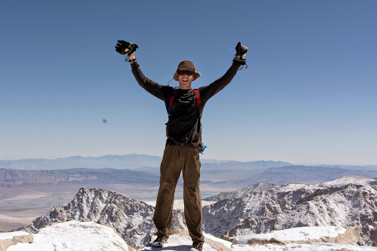 Summiting Mount Whitney