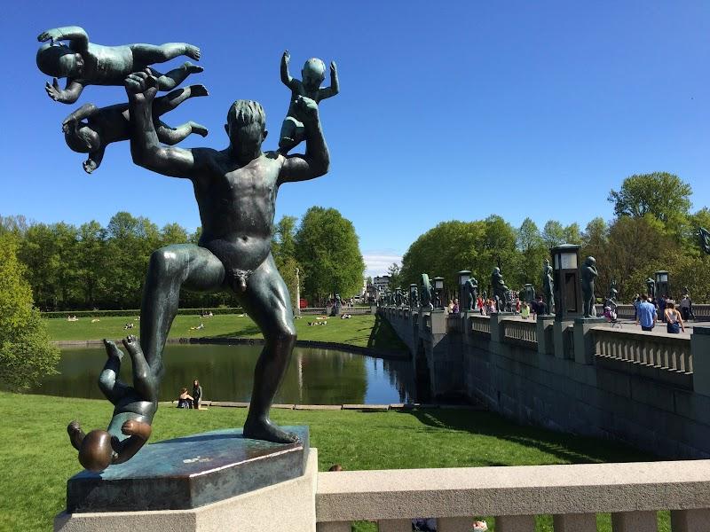Oslo, Frogner Park