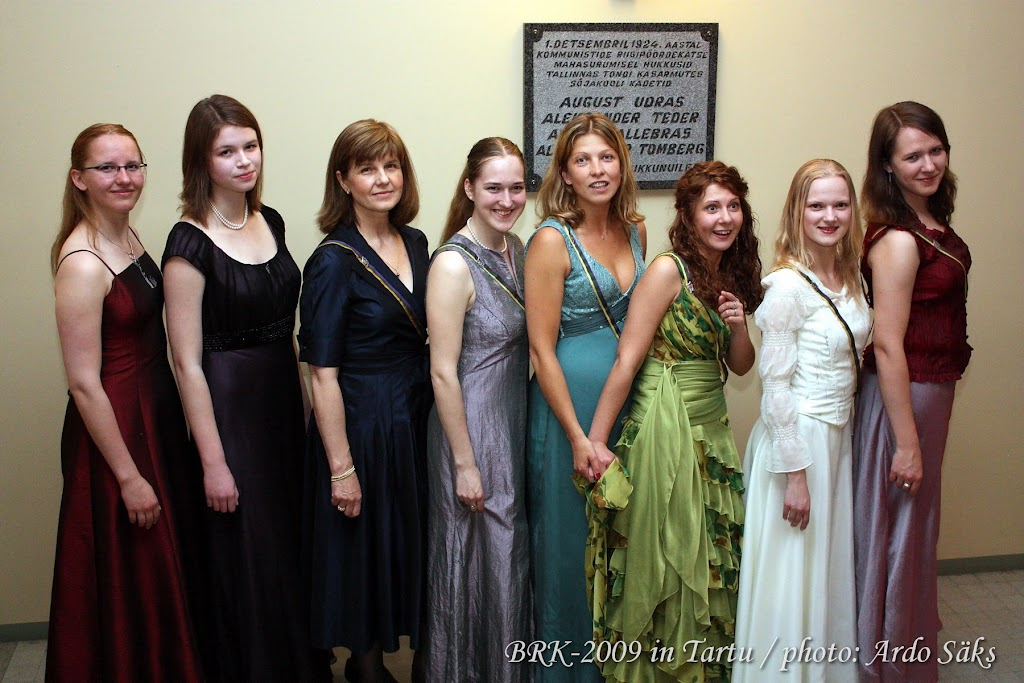 46. Balti Rahvaste Kommers / 46-th Commers of Baltic Fraternities - BRK2009_t032.JPG