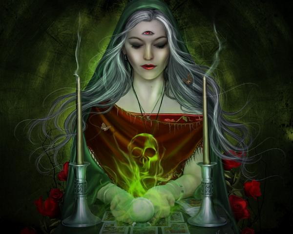 Witch Of Deep Cave, Wicca Girls
