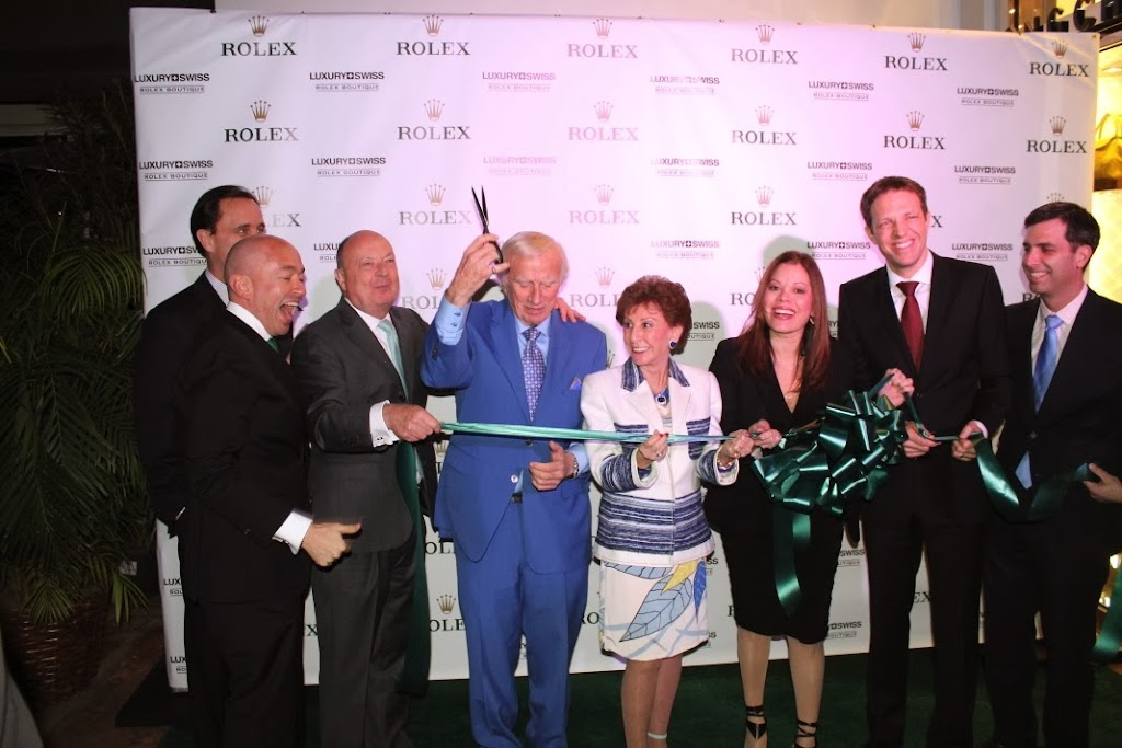 Rolex Miami Boutique Luxury Swiss LLC Ribbon Cutting 11