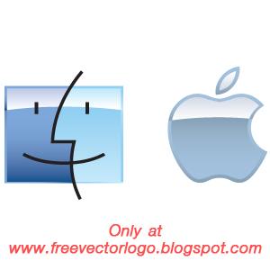apple mac os logo vector free vector logo free vector