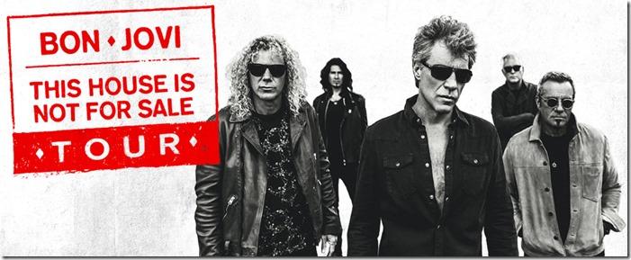 Recital Bon Jovi Tour 2017 entradas