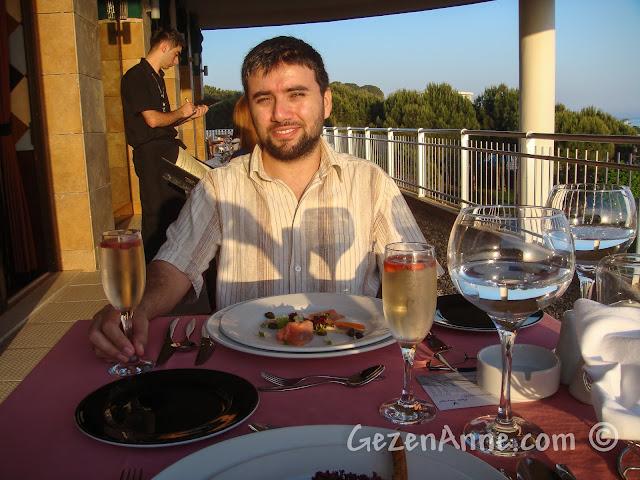 Voyage Belek'teki alakart restoranda