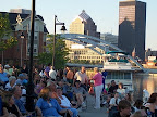 Free summer concerts at river's edge always attract a crowd