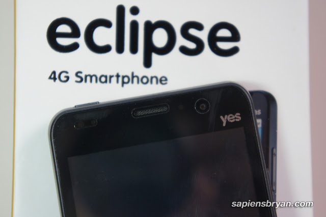 Top view of Yes Eclipse