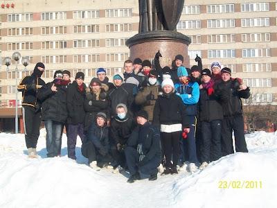 23-го февраля по всей России прошли акции здоровой молодёжи - Псков