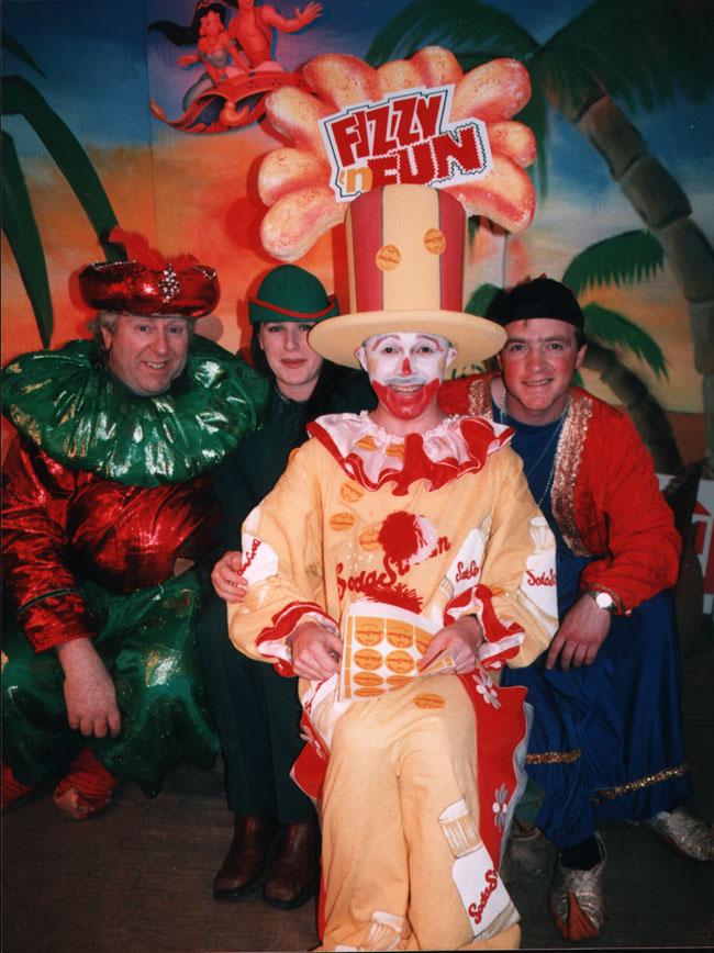 Clown Fizz and friends