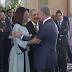 Presidente Medina recibe los saludos de Año Nuevo en el Palacio Nacional