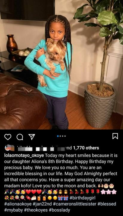 Aliona Okoye's 8th Birthday Celebration