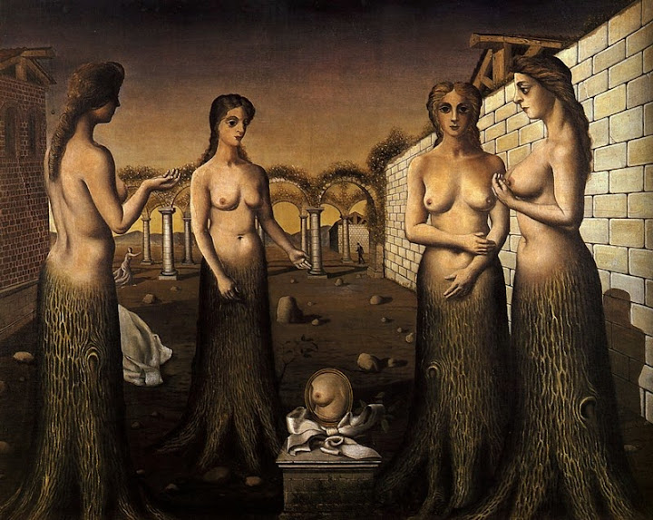 Paul Delvaux - Women-Trees, 1937