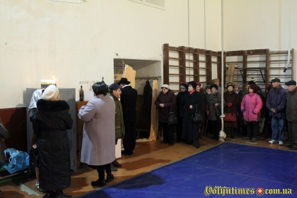 Луцька синагога. Свято Хануки.