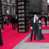 WWW.ENTSIMAGES.COM -  Tom Chambers and Arlene Phillips  at      The Olivier Awards at Royal Opera House, Covent Garden, London, April 28th 2013                                               Photo Mobis Photos/OIC 0203 174 1069