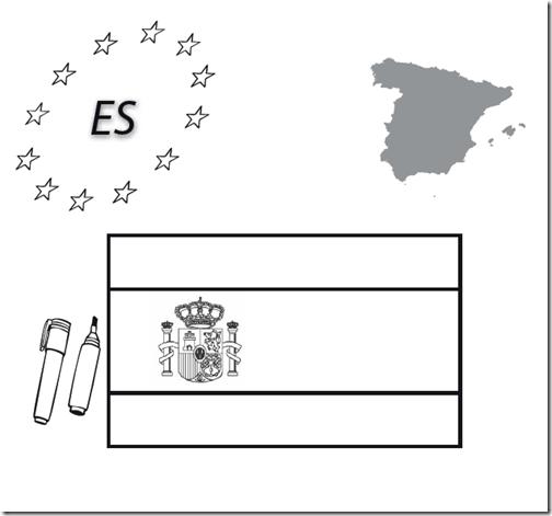 Descarga gratis un pdf con  las banderas de la UE