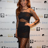 WWW.ENTSIMAGES.COM -       Stephanie Nala - X Factor Contestant   at      Stephen Handisides My Face My Body Awards at The Royal Garden Hotel London November 1st 2014                                                 Photo Mobis Photos/OIC 0203 174 1069