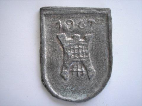 Naam: A. van DijkPlaats: HaarlemJaartal: 1967bijz: poort Haarlem