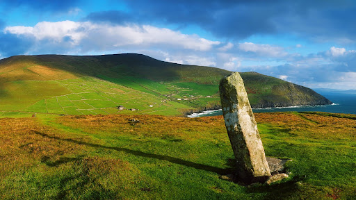 Ogham Stone, Dunmore Head, Dingle Peninsula, County Kerry, Ireland.jpg