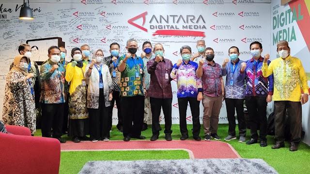 Kunjungi LKBN Antara, Diskominfo Kotabaru Koordinasi MoU