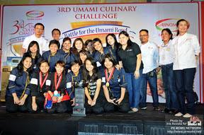 3rd Umami culinary challenge big winner