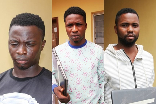 Nigerian Students, Others Arrested By EFCC Over Fraud aka Yahoo Plus (Photos)