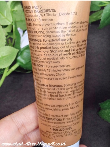 [Review] Garnier BB CREAM - USA Version