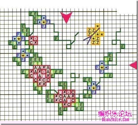 corazones en punto de cruz laborespuntocruz (26)
