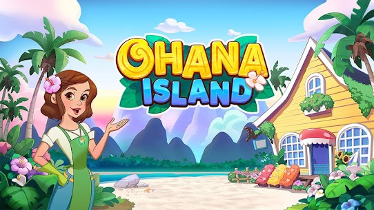 Ohana Island MOD APK 1.5.2 [Menu Mod] Blast flowers and build 6