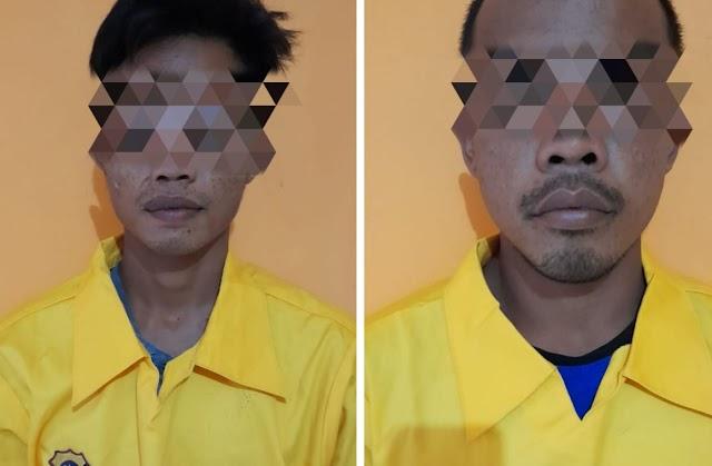 Curi Sarang Walet, Dua Pria Ini Dibekuk Polsek Karau Kuala
