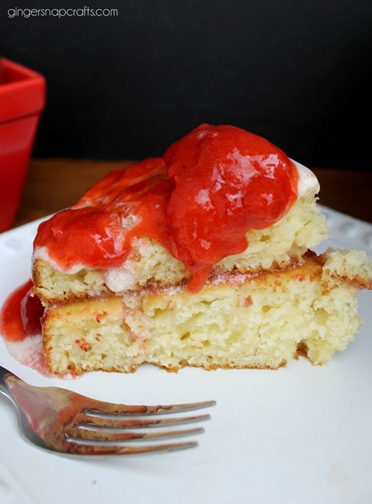 strawberry shortcake recipe #recipe
