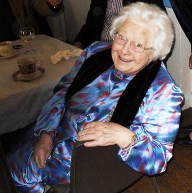 Ivy Bass at her 90th Birthday party