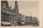 Groningen. Oude Ebbingestraat tweede gebouw links Nutsspaarbank. Gelopen gestempeld in 1932.
