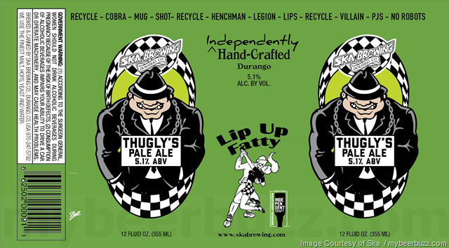 Ska Adding Thugly's Pale Ale Cans