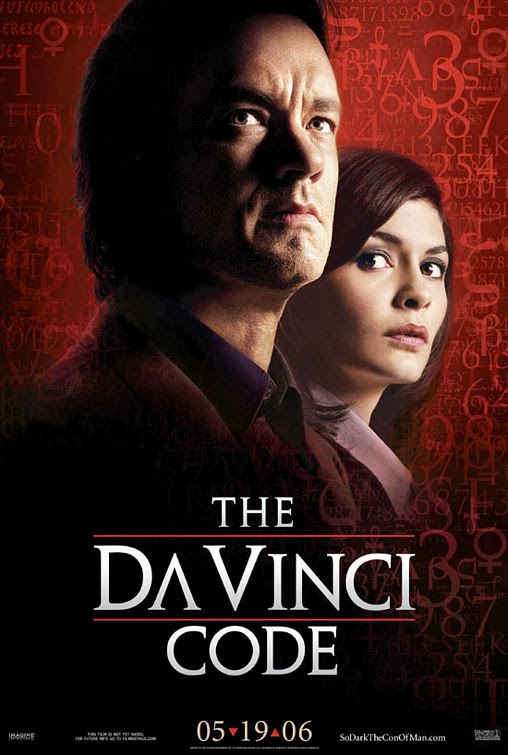 Poster Of The Da Vinci Code (2006) Full Movie Hindi Dubbed Free Download Watch Online At Alldownloads4u.Com