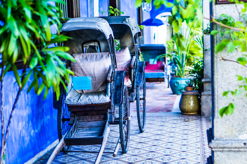 Penang Cheong Fatt Tze Mansion (Blue Mansion) rickshaw9