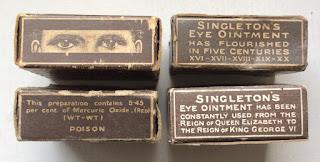 Singleton's Eye Pedestals