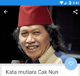 Kata Bijak Cak Nun ( Emha Ainun Najib ) - náhled