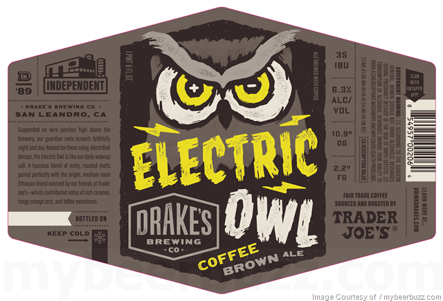 Drake's Brewing - Electric Owl Coffee Brown Ale