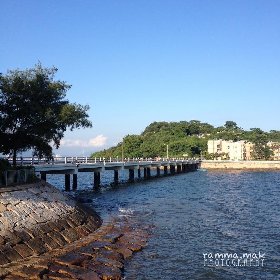 連接大利島與坪洲的橋