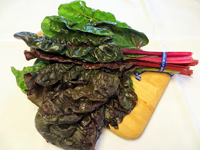 ... Saute with mustard greens, kale, turnip or dandelion greens, and swiss