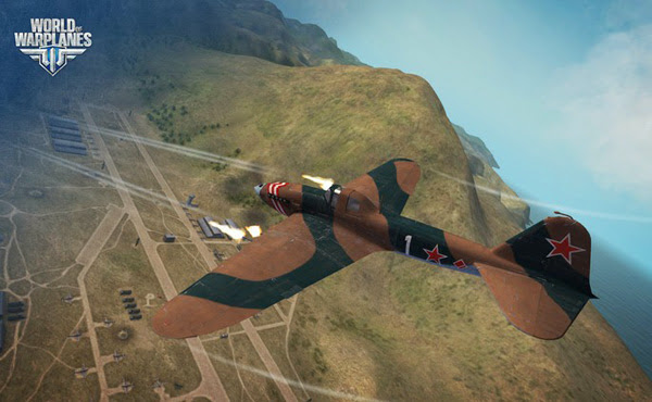 Game không chiến World of Warplanes mở cửa OBT 8
