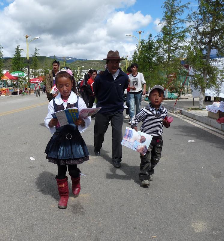 Chine. Yunnan.Shangri la Course hippique annuelle - P1250767.JPG