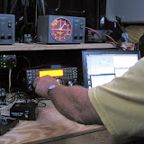 Terry W8ZN operating microwaves K8GP / Rover - FM08US