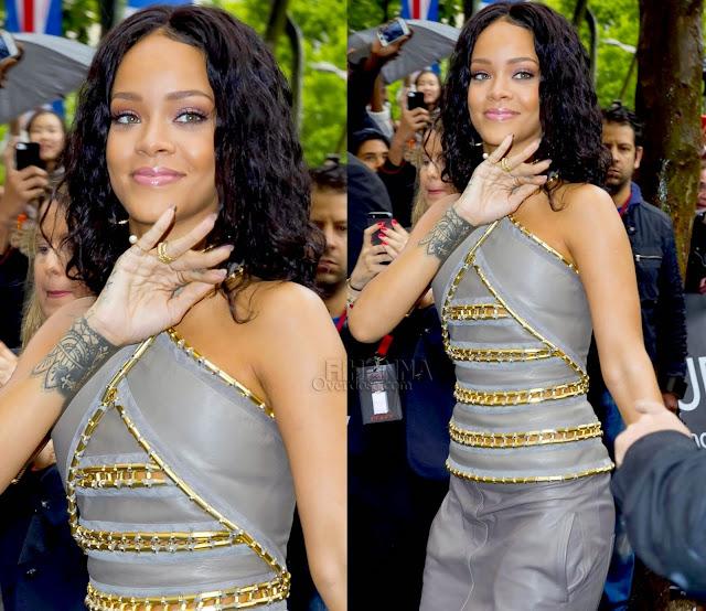 Rihanna in Balmain, Yvonne Leon, Lynn Ban