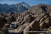 My Tacoma at Alabama Hills, California