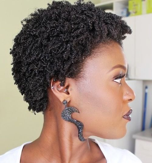 5 Short Natural Hairstyles For Black Women 2018 Natural Hairstyles