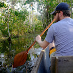 Paddling about in the amazon rainforest